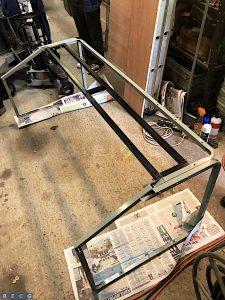 Production-desk-frame